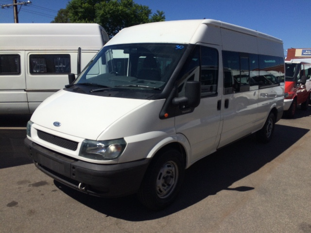 ford transit minibus 12 seater details used vans for sale in adelaide and south australia. Black Bedroom Furniture Sets. Home Design Ideas