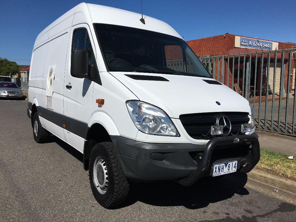 mercedes benz sprinter 4x4 details used vans for sale in adelaide and south australia adelaide. Black Bedroom Furniture Sets. Home Design Ideas