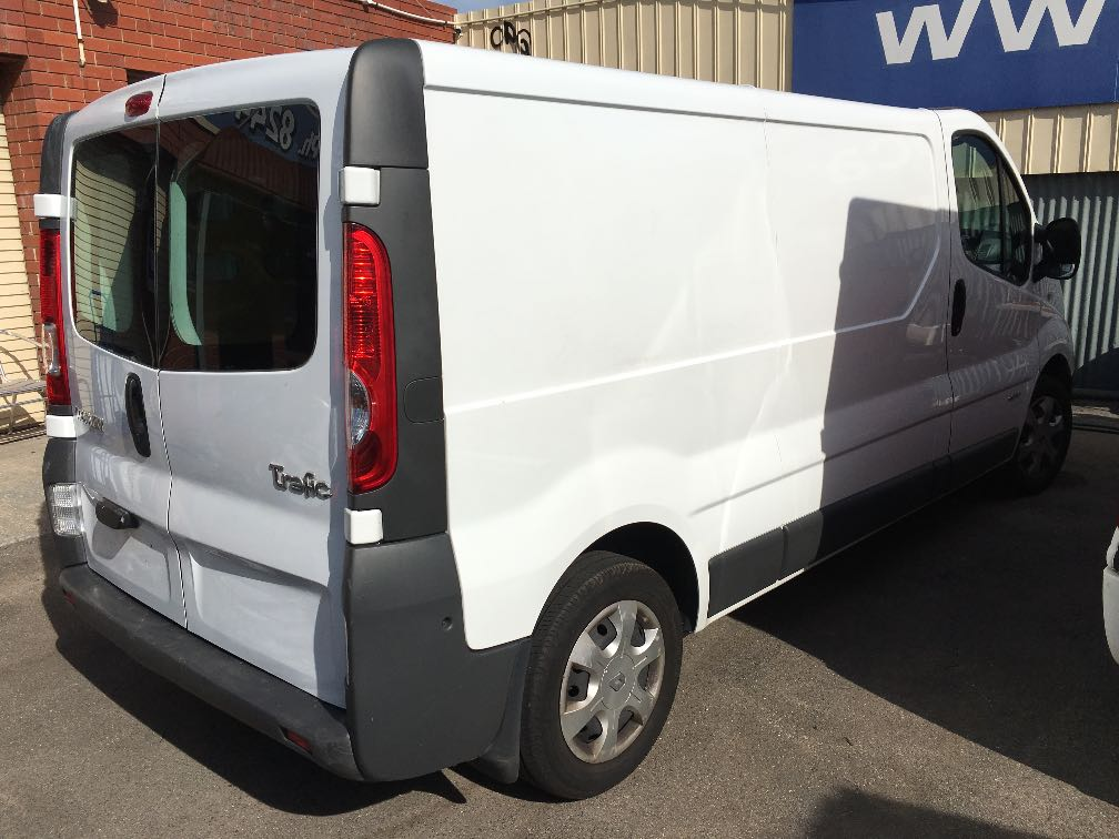 renault trafic details used vans for sale in adelaide and south australia adelaide used vans. Black Bedroom Furniture Sets. Home Design Ideas