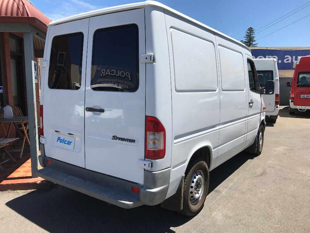 mercedes sprinter details used vans for sale in adelaide and south australia adelaide used vans. Black Bedroom Furniture Sets. Home Design Ideas