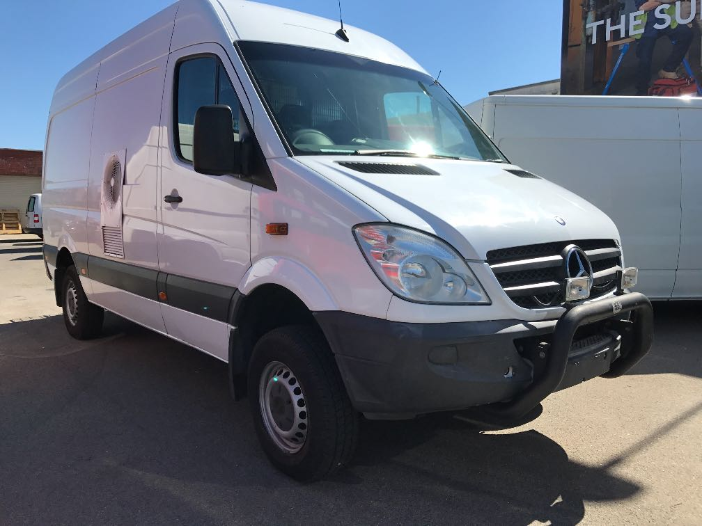 mercedes sprinter 4x4 details used vans for sale in adelaide and south australia adelaide used. Black Bedroom Furniture Sets. Home Design Ideas
