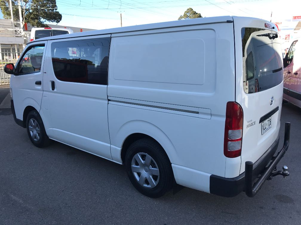 toyota hiace details used vans in melbourne and victoria melbourne used vans. Black Bedroom Furniture Sets. Home Design Ideas