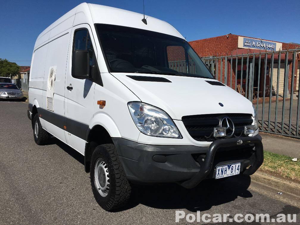 2009 Mercedes-Benz Sprinter 4x4