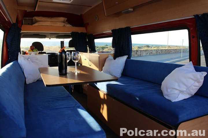 2002 Ford Transit campervan